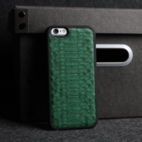 China exotic pythons leather phone cover for iphone 6/6S/6plus - BG5075-IP6-50JP0003 on sale