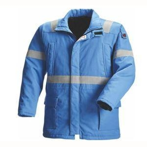 China Cotton Winter Men Fireproof Working Safety Jackets with Reflector on sale