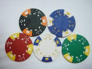 China double dice chip on sale