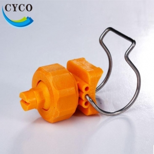 China Yellow Plastic Clamp Type Spray Nozzles Tips Manufacturers from China on sale
