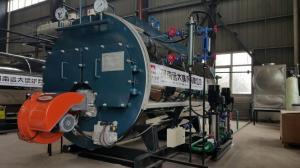 China 10 bar 5 ton 6 ton Dual Fuel gas oil steam boiler on sale