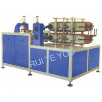 Double traction cutting machine