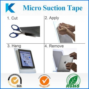 China Micro suction tape stand for ipad with non-Magnetic materials on sale