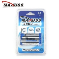 Ni-MH 2800mAh x2 AA Rechargeable Battery 1.2V