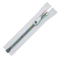 China ZIPPER NO.5 PLASTIC COLORFUL TEETH ZIPPER O/E A/L on sale