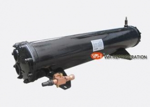 China Carton Steel Shell And Tube Heat Exchanger , Refrigeration Condensing Unit 53KW on sale