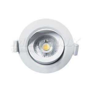 China MILANLUX 10W Round 90Lm/W Dimmable Bathroom Downlights With Gimbal Design on sale