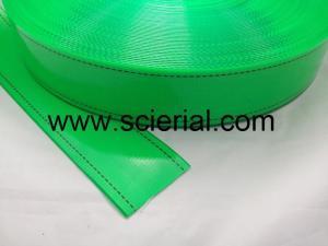 China polyurethane plastic coated nylon / polyester webbing on sale