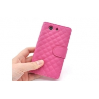 Xperia case Leather Case For Xperia Z3 Compact SO-02G