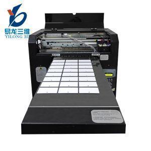 China Plastic PVC Recharge Visiting Membership Card Printing Machine on sale