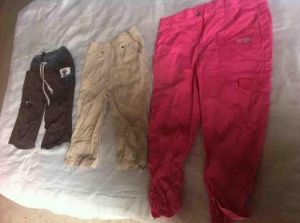 China used boy long pants on sale