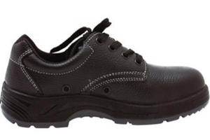China low cut steel toe cap oil resistant suede leather safety shoes on sale