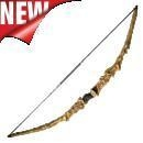 China Combat Archery Bows Larp Tradition Recurve Bow Model: RFW-R0032-3 on sale