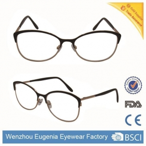 China Reading Glasses Vintage Round Frame Metal Full Frame Retro Reading Glasses on sale