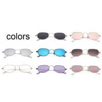 Sunglasses Rose Golden Frame Mirror Lens New Design Leg Fashion Sunglasses For Young