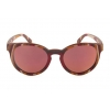 China 2017 women sunglasses Cute Replica Round wood Frame traveling Glasses for sale