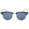 China Bamboo temple CE FDA sunglasses Stylish half frame UV protected for sale