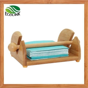China Bamboo Roller Bar Napkin Holder on sale