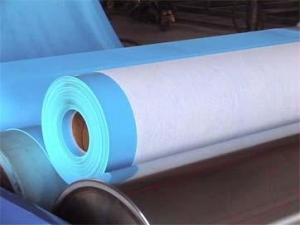 China Polyvinyl chloride (PVC) waterproof coiled material on sale