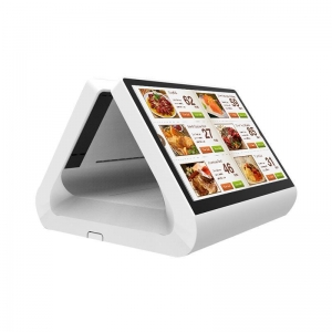 China 12 inch dual screen touch Andrews POS machine_P1202I5A on sale