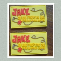 China Garment PVC Label PVC Brand Label PVC Tag on sale