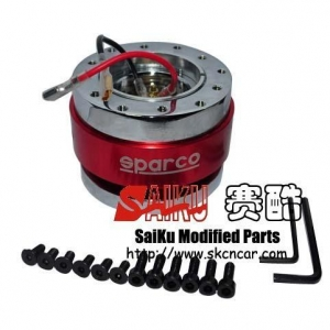 China Racing Parts SK-E0031 SPARCO Steering Wheel Quick Releaase on sale