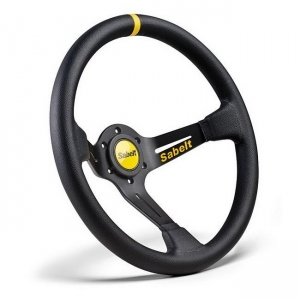 China Racing Parts SK-E0027 Sabelt Leather Steering Wheel on sale