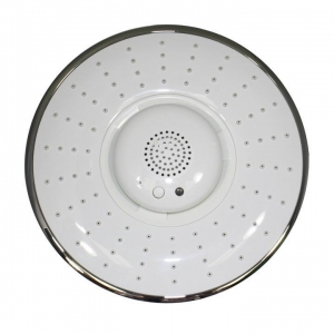 China Shower Heads WIRELESS BLUETOOTH SHOWER HEAD - WHITE on sale