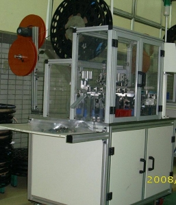 China Pin insertion machine with guide chamfer on sale