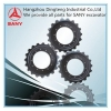 China Undercarriage Parts SANY Excavator Sprocket Wheel for sale