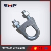 China Galv. European Type Large Dee Shackle Sizes for sale