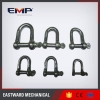 China Galvanized Forged Carbon Steel Screw Pin Anchor Shackle G209 for sale