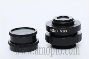 China EA202 0.5X 1/2 1/3X C-MOUNT Lens Adapter For Video Camera Trinocular microscope on sale