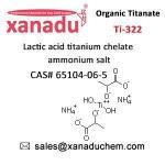 Chelate Titanates CAS# 65104-06-5 Titanate Ti-322