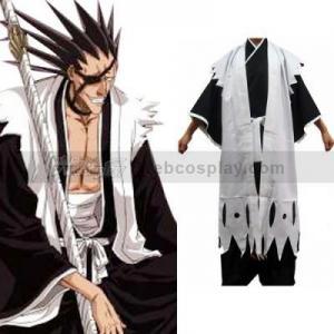 China Bleach 11th Division Captain Zaraki Kenpachi Cosplay Costume(WEBC0059) on sale