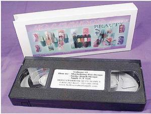 China Instructional Video Tape - Acrylic / Pink & White Powder on sale