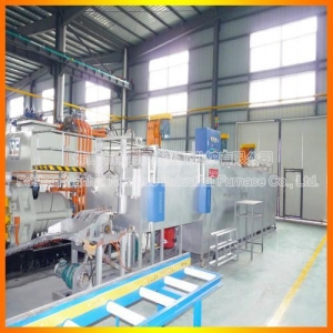 China Chain type aluminum billet heating furnace on sale