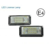 BMW BMW E46-4D LED License lamp