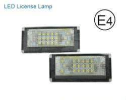China BMW BMW E46-4D LED License lamp on sale