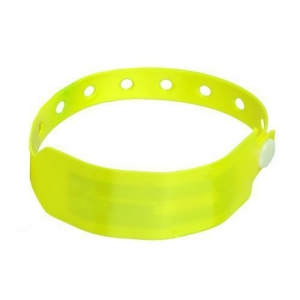 China RFID Bracelets Disposable Vinyl Custom Wristbands for Events on sale