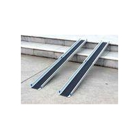 6ft Lightweight Aluminium Telescopic Portable Wheelchair Scooter Ramp for the Disabled