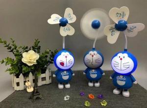 China Cartoon cat rechargeable fan, usb fan, desktop small night lights on sale