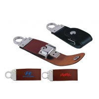 China Leather USB Drive on sale
