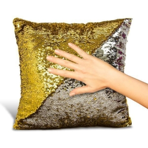 China Blissful Home Magic Sequin Pillow on sale