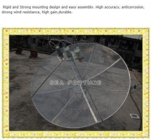 China 160 cm mesh satellite dish, C Band 160cm Prime focus antenna, Drop Shipping on sale