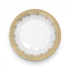 China Vetro Gold Salad/Dessert Plate on sale