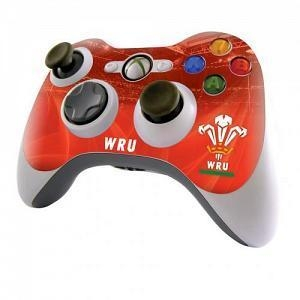 China Wales Rugby Xbox 360 Controller Skin / Sticker on sale