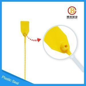 China Plastic Seal Beaded Pull Tight Disposable Plastic Security Lock on sale