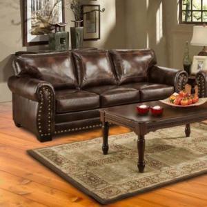 China Hacienda Leather Sofa (Sofas - Stationary) on sale