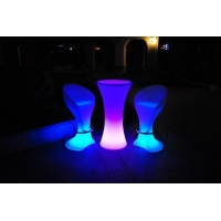China LED Cocktail Bar Table on sale